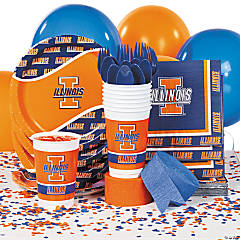 NCAA™ Illinois Fighting Illini® Party Supplies