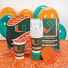 NCAA™ Miami Hurricanes® Party Supplies
