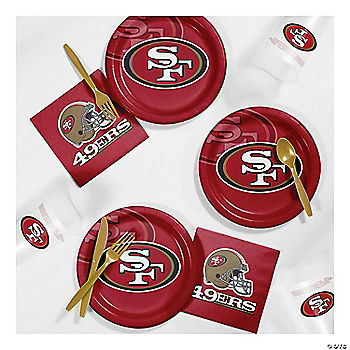 NFL® San Francisco 49ers Basic Party Pack