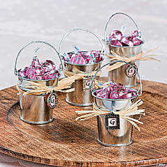 Galvanized Bucket Favors