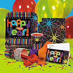 Happy New Year Party Supplies