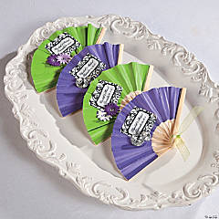 Wedding Favor Fans Idea