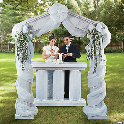 Marble Fluted Archway Idea Arches Amp Columns Party Decorations Party Supplies