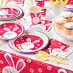Hippity Hop Easter Bunny Party Supplies