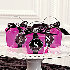 Monogram Take Out Boxes Idea