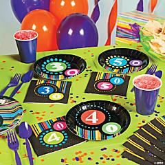 Milestone Birthday Dots Party Supplies