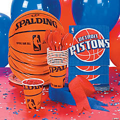 NBA® Detroit Pistons™ Party Supplies