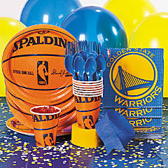 NBA® Golden State Warriors™ Party Supplies`