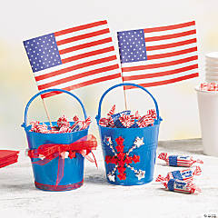 Patriotic Tin Pail Project