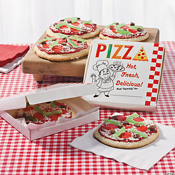 Pizza Party Personal Pan Pizza Boxes