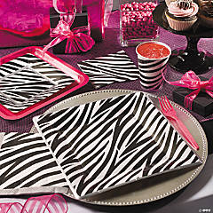 Zebra Grad Party Supplies