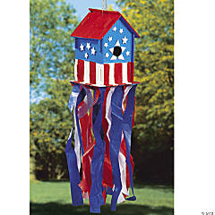 All American Birdhouse Idea