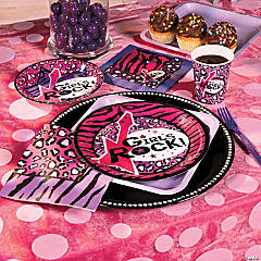Rock Star Diva Party Supplies