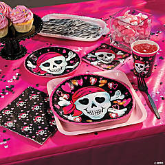 Pink Pirate Girl Party Supplies