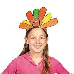Thanksgiving Foam Headband Idea