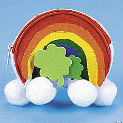 Rainbow Coin Purse Idea