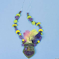 Mardi Gras Necklace Idea