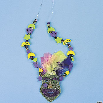 Mardi Gras Necklace