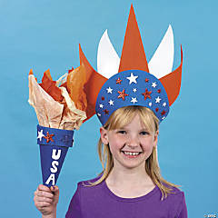 Lady Liberty Crown and Torch Idea