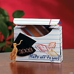 Hats Off to You Gift Box Project Idea