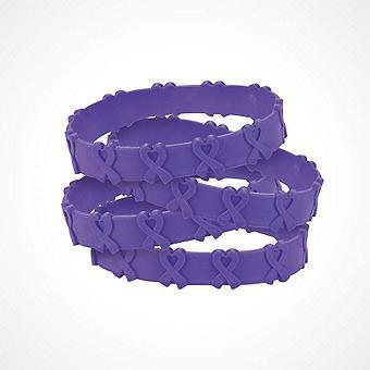 Purple Ribbon Jewelry