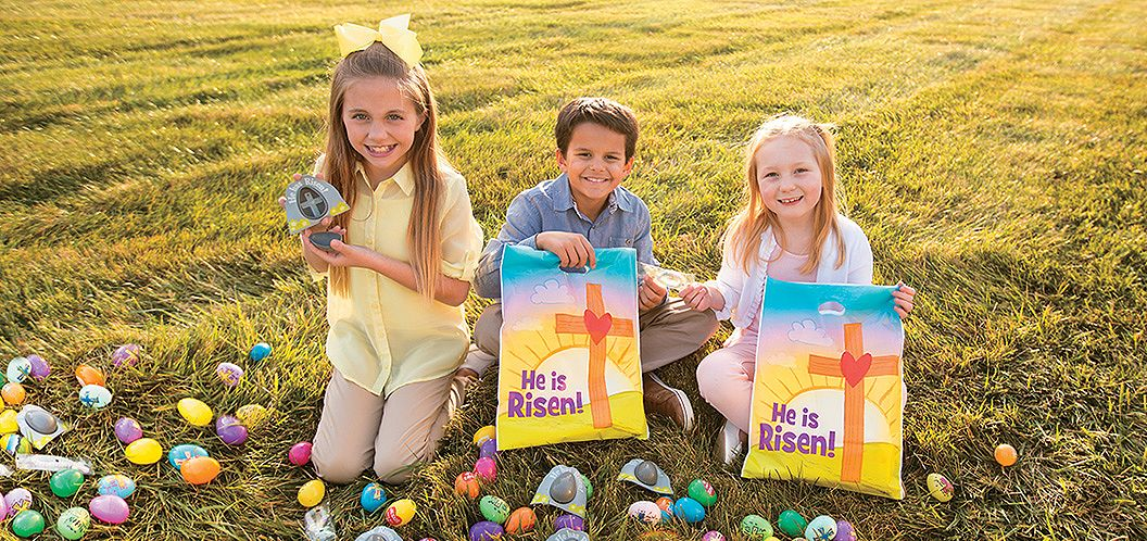 Share the Easter Message... He is Risen