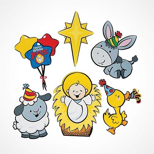 Sunday School Supplies – Happy Birthday Jesus Invitations