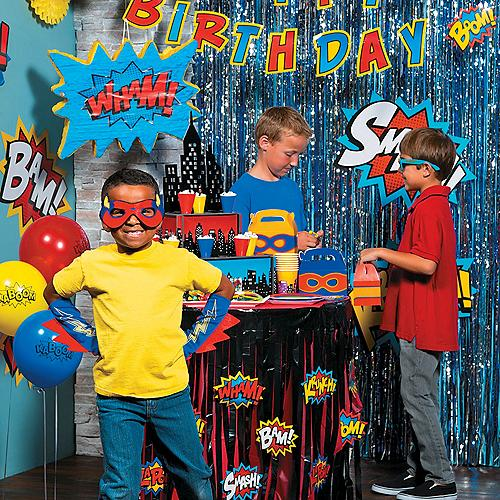 Superhero Party Supplies | Superhero Birthday Party Games, Favors ...