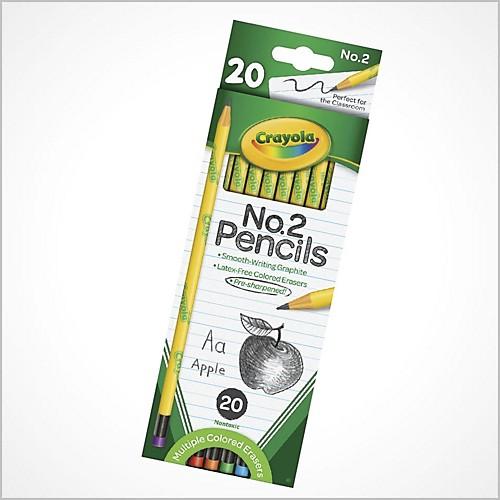 Crayola® No. 2 Pencils - 20 Pc.