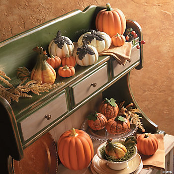Put Your Pumpkin on a Shelf