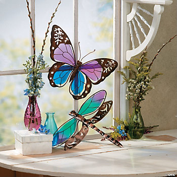 Dragonfly or Butterfly Wall Decorations