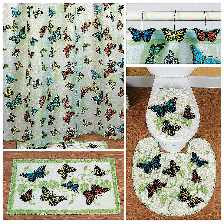 Butterfly Bathroom Decor