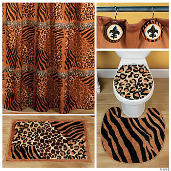 Animal Print Bathroom Collection