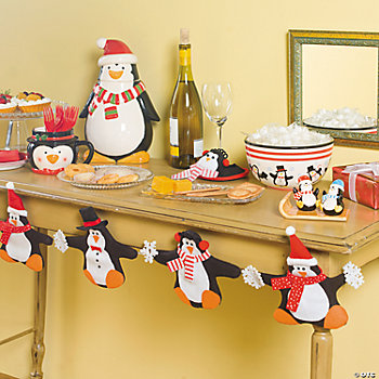 Jolly Holiday Penguins