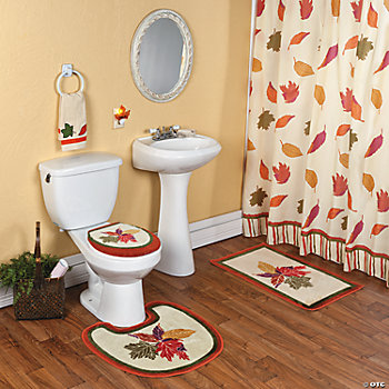 home decor accents holiday decorations accessories ForFall Bathroom Sets