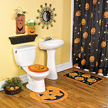Jack-O'-Lantern Bath Collection