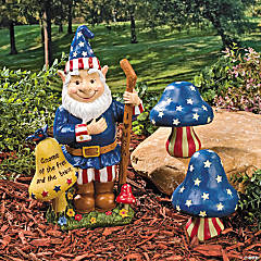 Americana Gnome Display