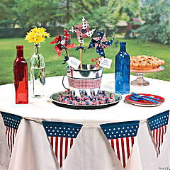 Patriotic Outdoor Table Décor