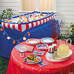 4th of July Outdoor Buffet