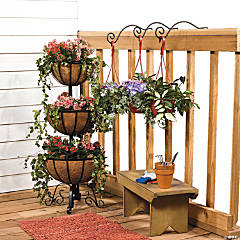 Pretty Deck Plant Holders