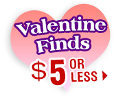 Valentine Finds - $5 or Less