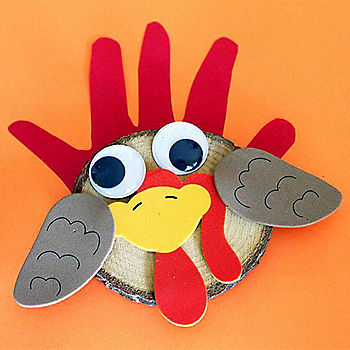 Turkey Magnets & Writing Activity