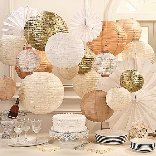Paper Lanterns Wedding Decoration Ideas: Wedding Reception Decorations, Wedding Reception Supplies