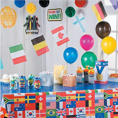 2018 winter international games party supplies usa party for International party decor