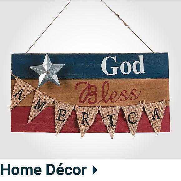 Patriotic Home Decor