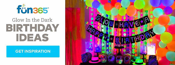 Glow In the Dark Birthday Ideas