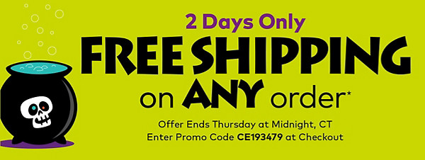 Extended 2 More Days! Free Shipping on Any Order!
