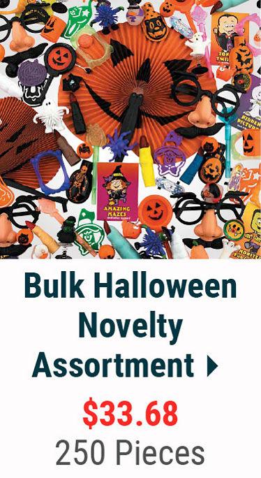 Bulk Halloween Novelty Assortment