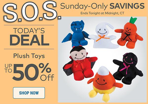 SOS Sale Halloween Plush - Save up to 50%