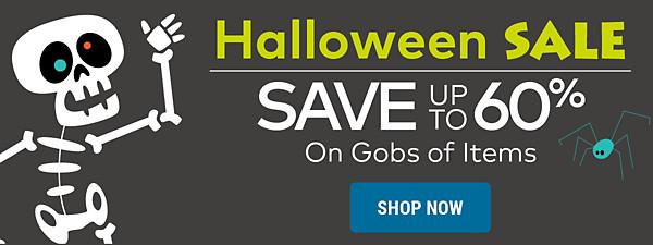 Halloween Sale - Save up to 60%